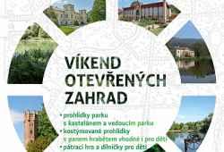 Víkend otevřených zahrad na zámku Čechy pod Kosířem