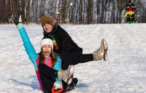 Zimní radovánky na Střední Moravě