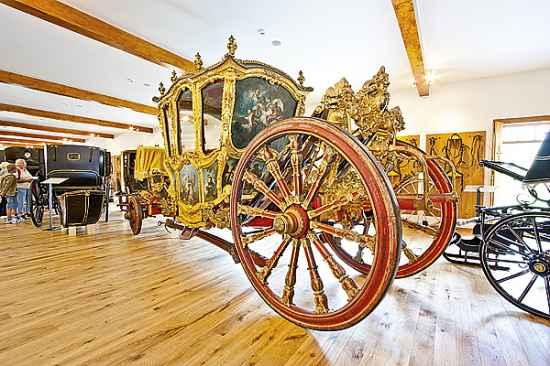 Muzeum historických kočárů v novém kabátě