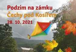 Podzimní den na zámku Čechy pod Kosířem